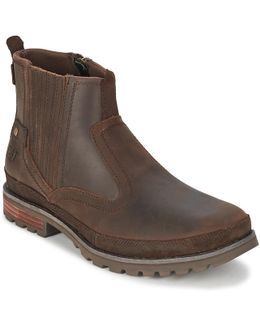 Rivingston Men's Low Ankle Boots In Brown