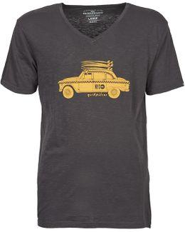 Ss Slub Tee Men's T Shirt In Grey