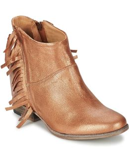 Maggiore Women's Low Ankle Boots In Brown