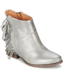 Maggiore Women's Low Ankle Boots In Silver