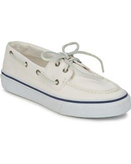 Sperry Top Sider Bahama 2-eye Men Moc Toe Canvas White Loafer