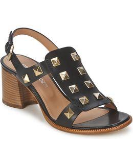 Lisi Women's Sandals In Black