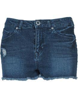 Stix Women's Shorts In Blue