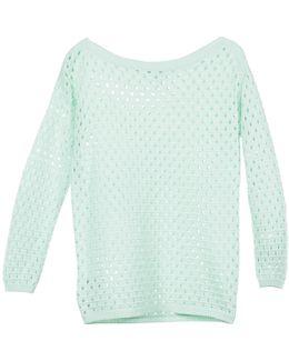 617223 Women's Sweater In Green