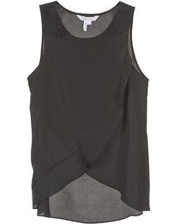 616725 Women's Vest Top In Black