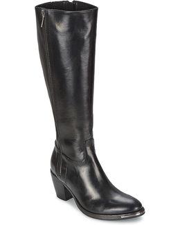 Yuma Black Women's High Boots In Black