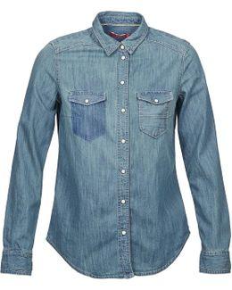 May Women's Shirt In Blue