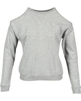 616752 Women's Long Sleeve T-shirt In Grey