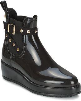 Vix Women's Wellington Boots In Black
