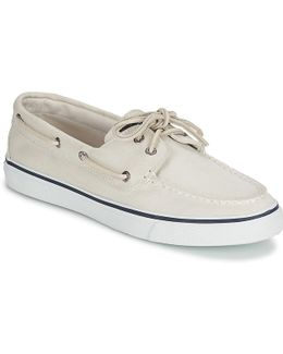 Bahama Women's Boat Shoes In White