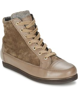 Bangkok Women's Shoes (high-top Trainers) In Brown