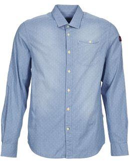 Gerol Men's Long Sleeved Shirt In Blue