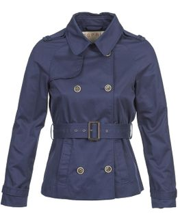 Monby Women's Trench Coat In Blue
