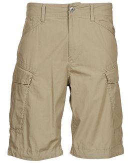 Rovic Combat Bermuda Men's Shorts In Beige