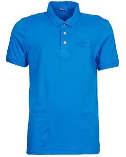 Eseo Men's Polo Shirt In Blue