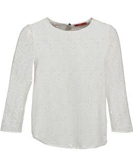 Vastan Women's Long Sleeve T-shirt In White