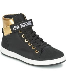 Carli Women's Shoes (high-top Trainers) In Black