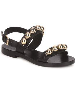Grelots Women's Sandals In Black