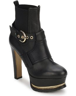 Ma2105 Women's Low Ankle Boots In Black