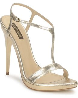 Rds736 Women's Sandals In Gold