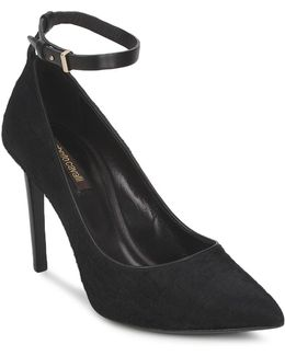 Wds232 Women's Court Shoes In Black