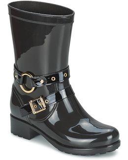 Ella Women's Wellington Boots In Black