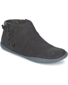Peu Cami Women's Mid Boots In Black