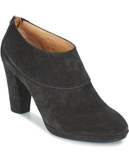Greta-1 Women's Low Boots In Black