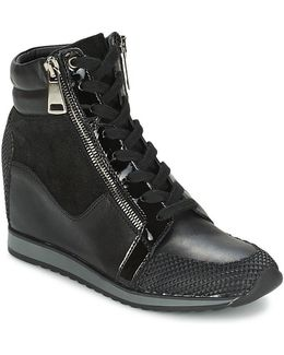 Aternum Women's Shoes (high-top Trainers) In Black