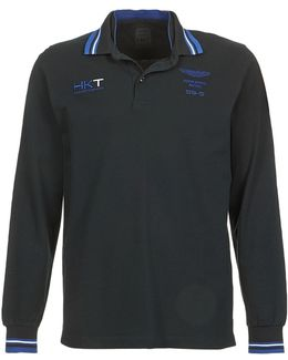 Amr Pima Db Clr Men's Polo Shirt In Black