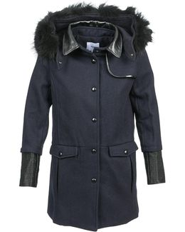 Elene Women's Coat In Blue