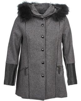 Ewa Women's Coat In Grey
