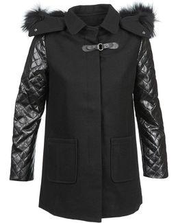 Emmanuelle Women's Coat In Black