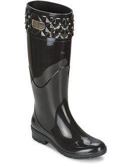 Bling Women's Wellington Boots In Black