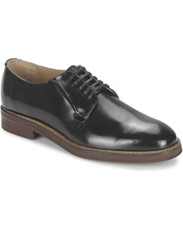 Rezi Postman Derby Men's Casual Shoes In Black