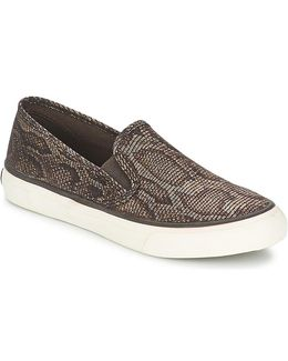 Seaside Python Women's Slip-ons (shoes) In Black