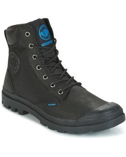 Spor Cuf Wpn Men's Mid Boots In Black