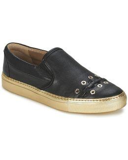 Mini Œillets Women's Slip-ons (shoes) In Black