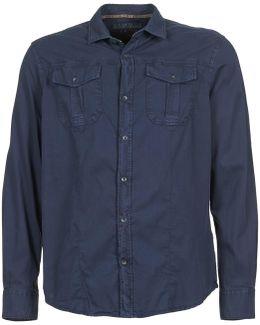 Garmy Men's Long Sleeved Shirt In Blue