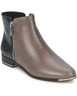 Cindra Women's Low Boots In Grey