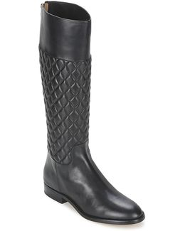 Mina Women's High Boots In Black