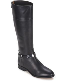 Morganna Women's High Boots In Black