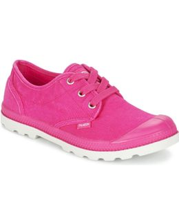 Us Oxford Women's Shoes (trainers) In Pink