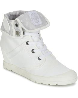 Pallaroute Women's Shoes (high-top Trainers) In White