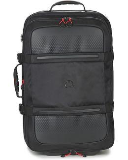 Montsouris 69cm Men's Soft Suitcase In Black