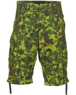 Rovic Loose 1/3 Men's Shorts In Green