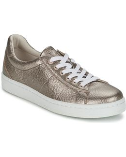 Gwen Lace Up Women's Shoes (trainers) In Gold