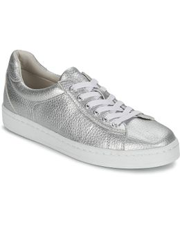 Gwen Lace Up Women's Shoes (trainers) In Silver