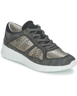 Lune Lace Up Women's Shoes (trainers) In Black