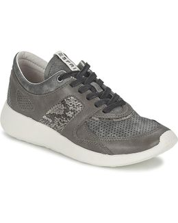Cloudy Lace Up Women's Shoes (trainers) In Grey